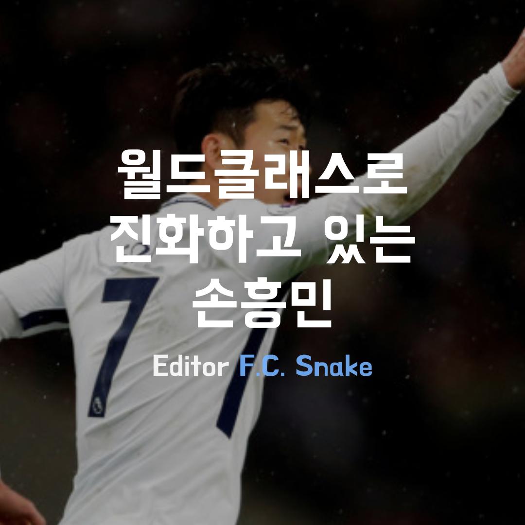 [Snake] 월드클래스로 진화하고 있는 손흥민