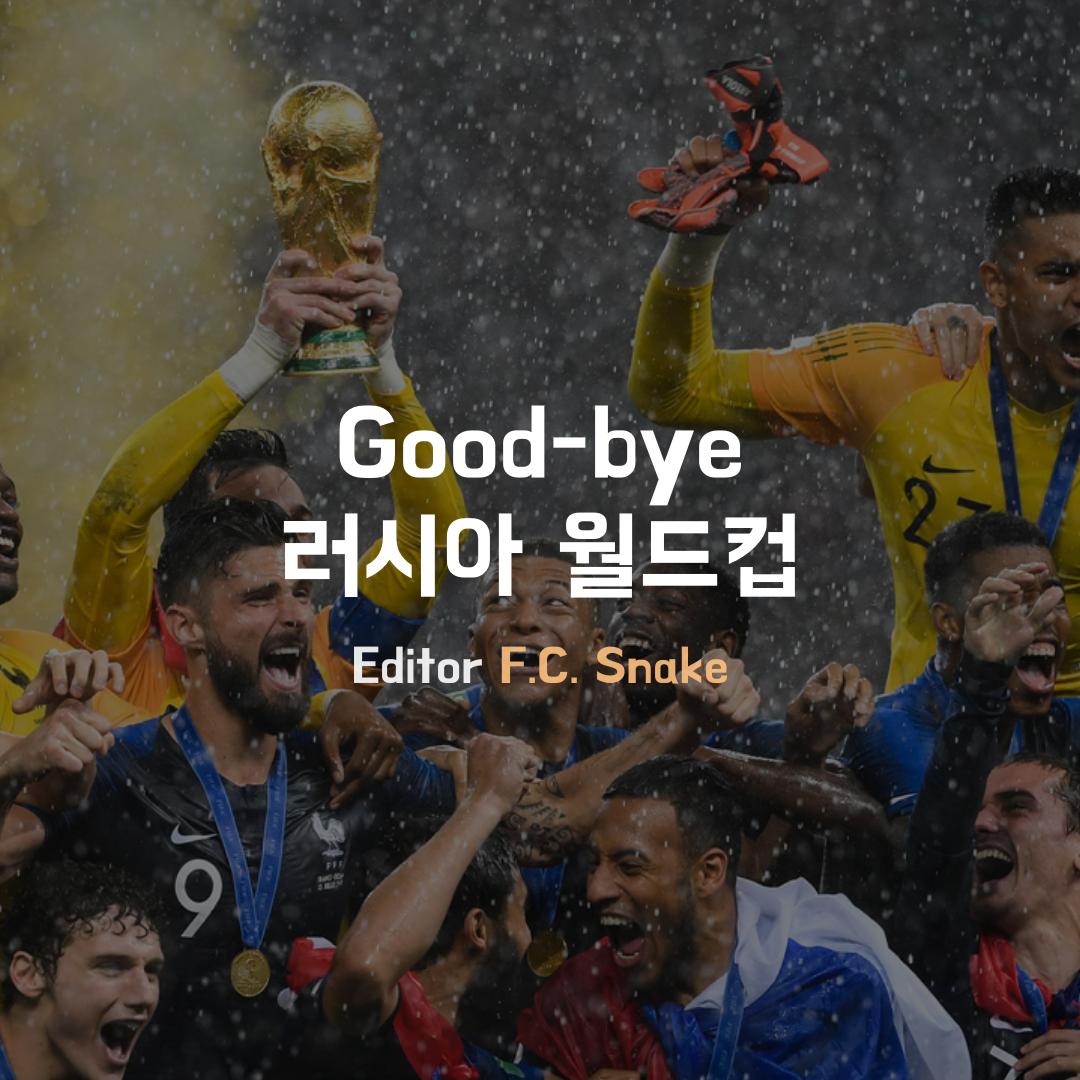 [Snake] Good-bye 러시아 월드컵 - 2018. 7. 17. b...