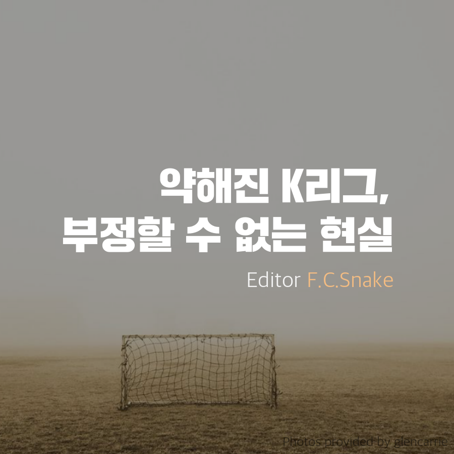 [Snake] 약해진 K리그, 부정할 수 없는 현실 - 201...