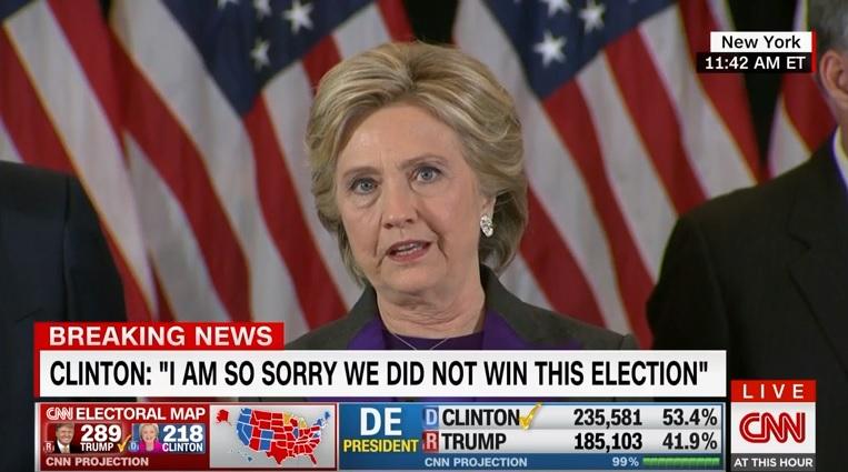 증오의 승리, 클린턴의 패배 - 미 대선 결과와 관...