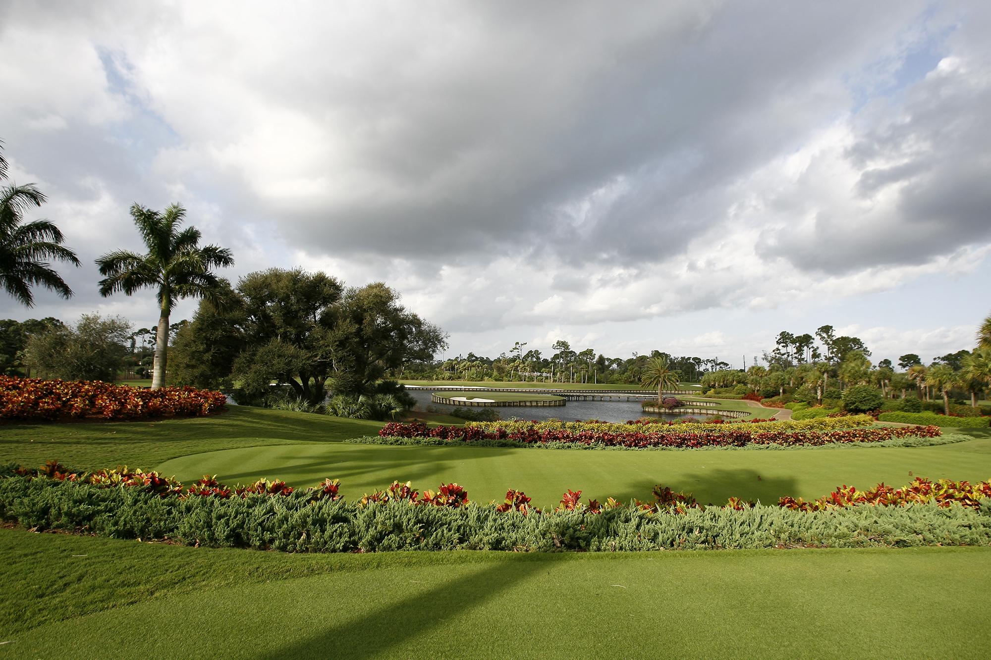 플로리다의 아름다운 골프클럽