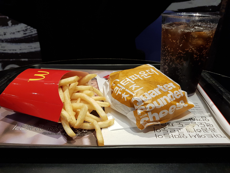 한 이방인의 소울푸드, 맥도날드 햄버거 - 낯선 곳...