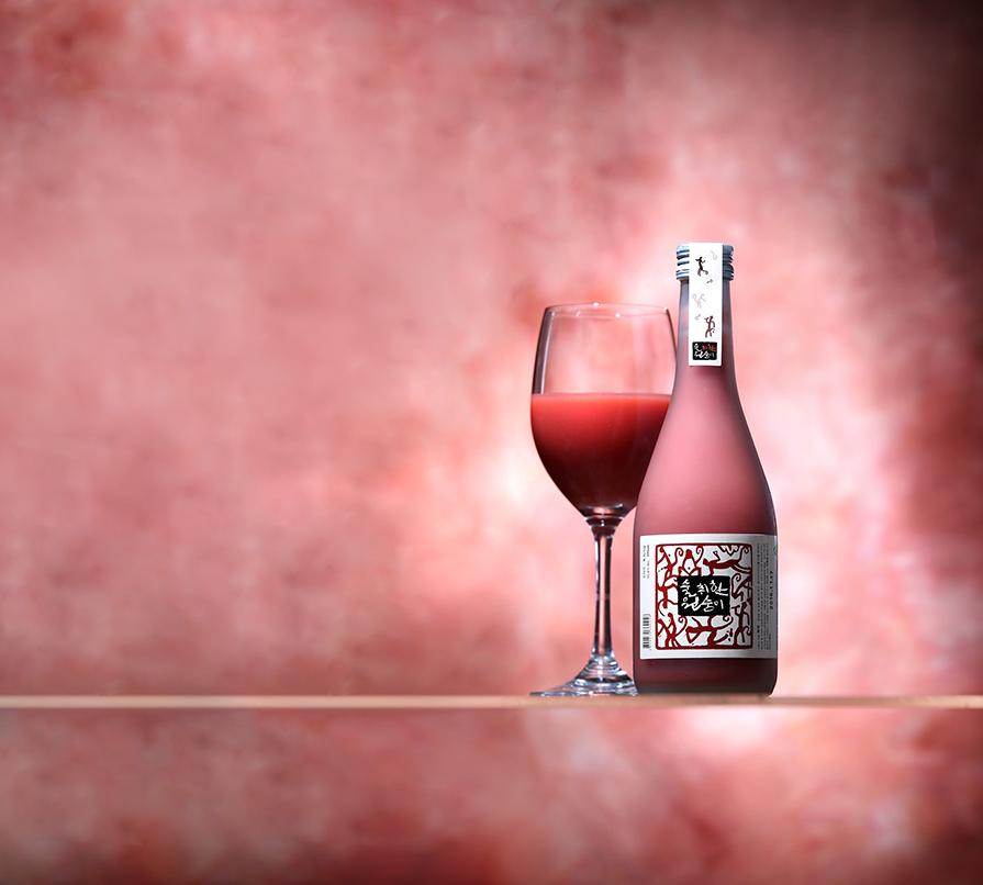 와인처럼 마시는 빨간 막걸리가 있다? - 전통주를 ...