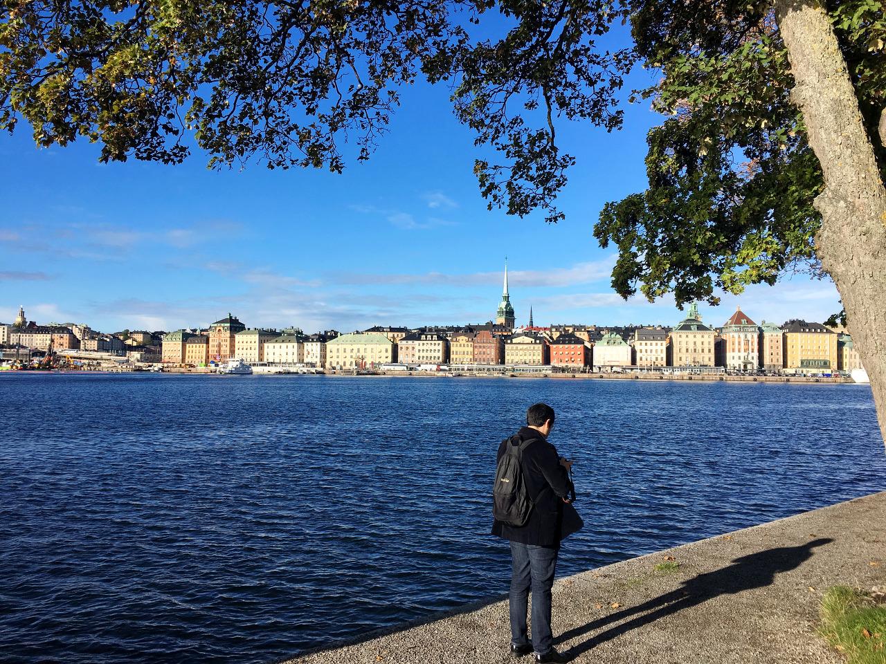 스톡홀름의 아침, 맑게 개었습니다 - 번외) 여유로...