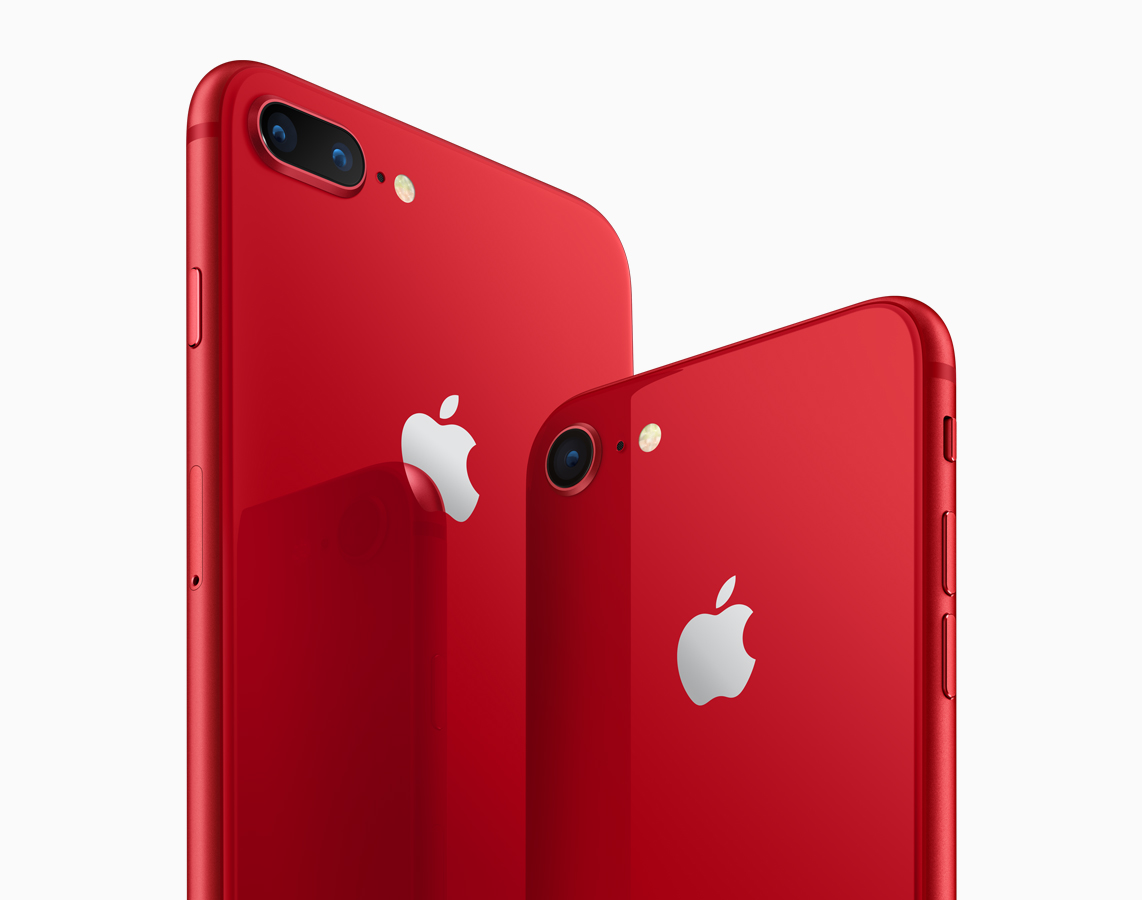 iPhone 8 (PRODUCT)RED 발표 - Apple iPhone 8 RED...