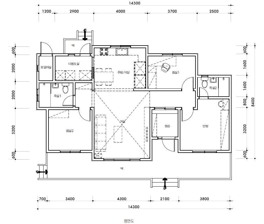 노후를 편안하게 보낼 30평 단층 귀촌 주택
