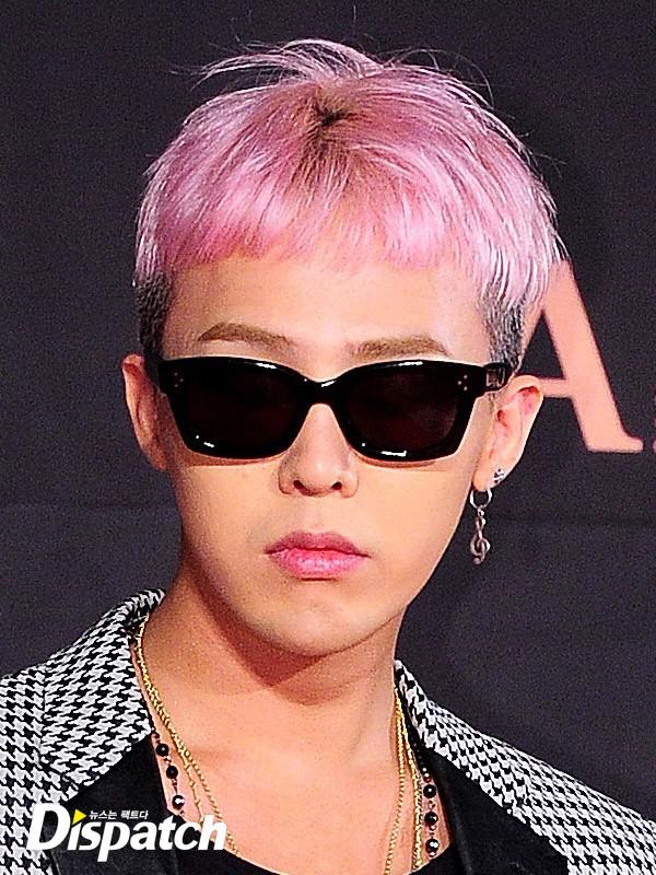 bigbang g-dragon 髪型