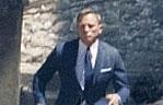 멕시코에서 007 촬영중인 다니엘 크레이그