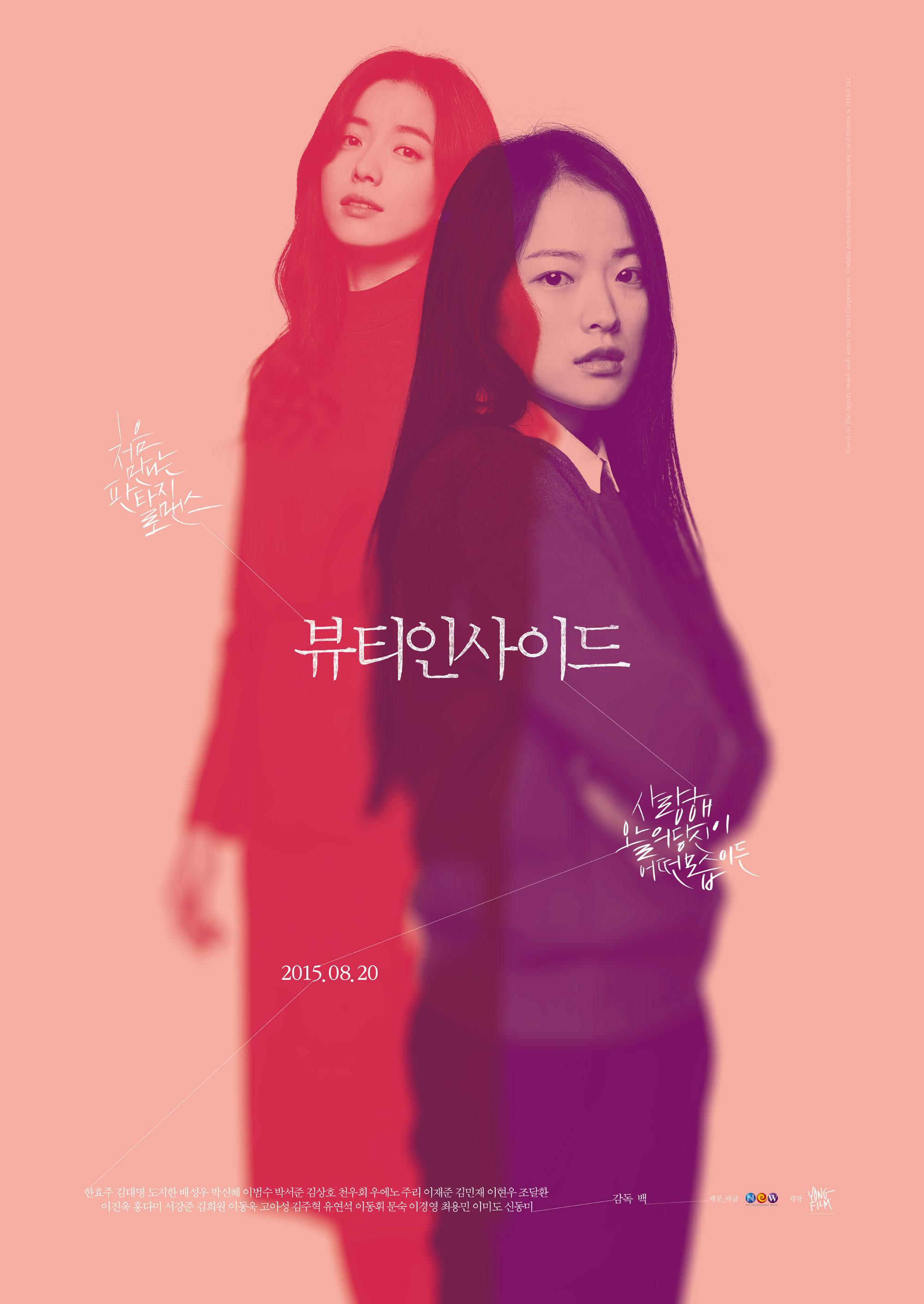 我的變身男友/愛上變身情人(The Beauty Inside)poster