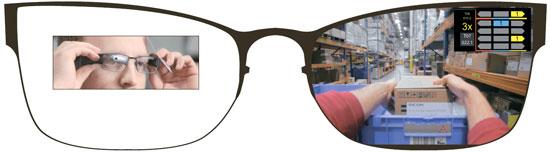 이 안경 쓰면 보입니다, 택배 물품 놓을 곳