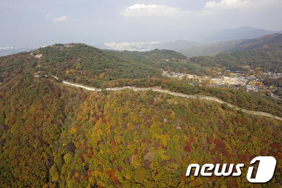 남한산성 전경 (남한산성문화관광사업단 제공) ./뉴스1