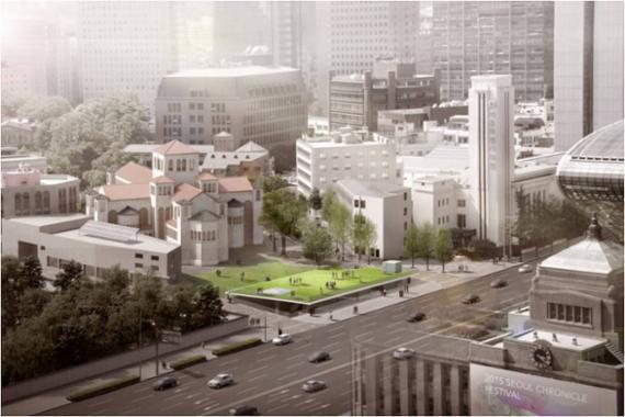 옛 국세청 별관, 지상 소광장 지하 3층 전시공간 된다..설계공모 ...