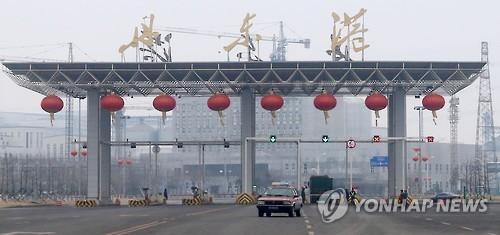 북한 선박의 발길이 끊긴 중국 랴오닝성 단둥항 [연합뉴스 자료사진]