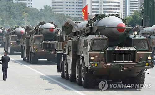 북한 노동미사일 [AP=연합뉴스 자료사진]