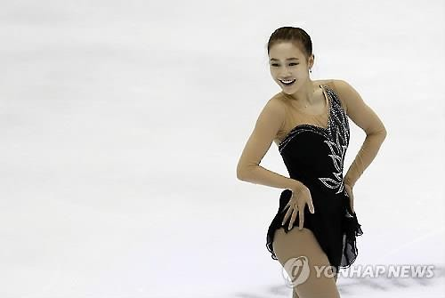 Park So-Youn (Dankook University) women's figure skating singles. [Reuters file photo]