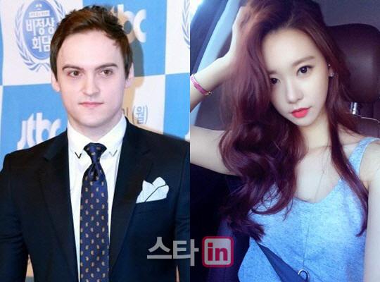 [단독]기욤 패트리·송민서 결별, 공개열애 종지부