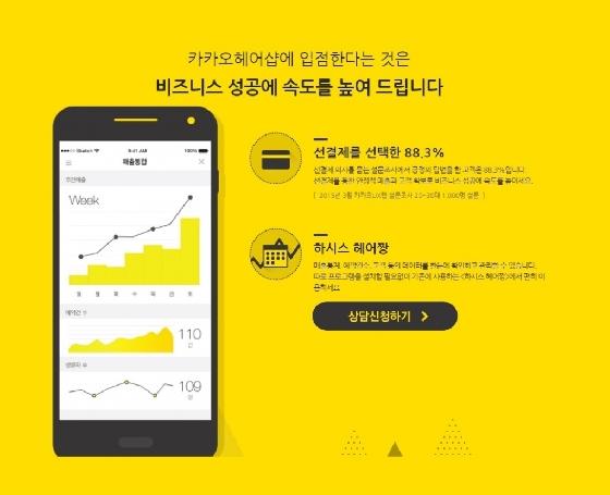 """""""헤어샵 시장을 잡아라""""..네이버 vs 카카오 '격돌'"""