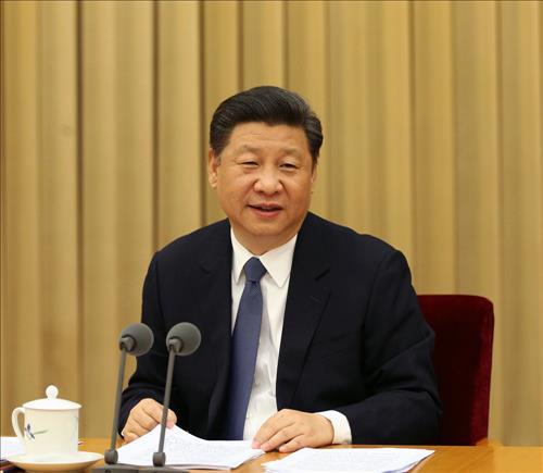 23일 열린 '전국종교공작회의'에 참석한 시진핑 중국 국가주석.[신화망 캡처]