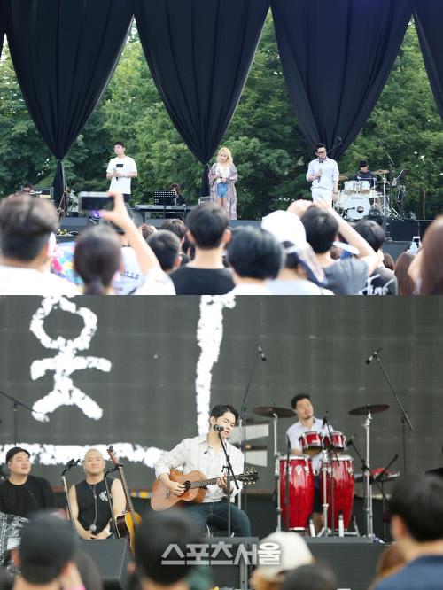 #음악 ♥ 어반자카파-박원, 2016 서울소울페스티벌 무대 성공적 마무리