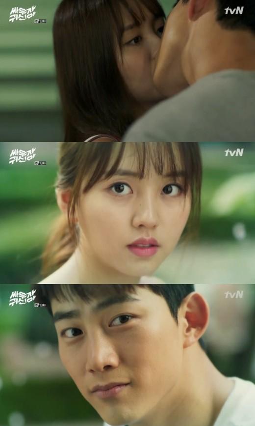 #드라마 ♥ '싸귀' 옥택연♥김소현, 기억 찾고 로맨스 재점화..'두번째 첫키스'[종합]