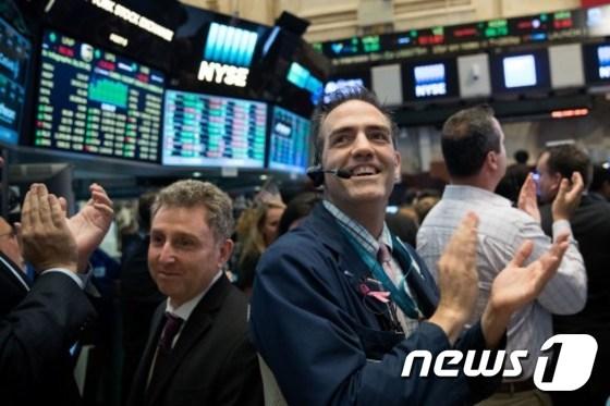 뉴욕증권거래소(NYSE). © AFP=뉴스1