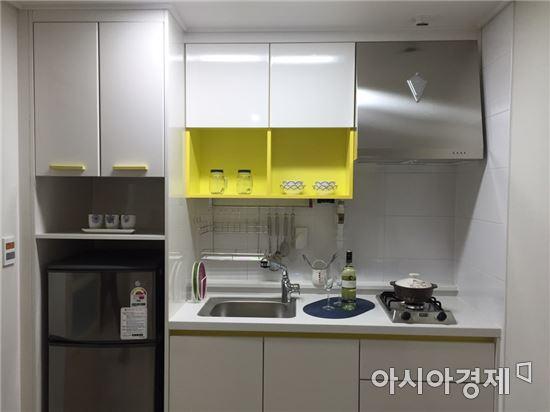 서울 오류지구 행복주택 내부