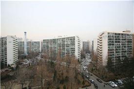 강남구 대치동 은마아파트 단지 전경