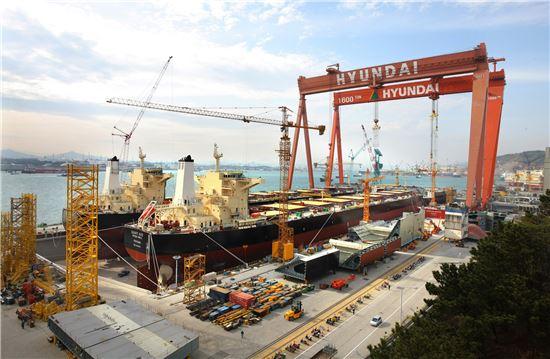 [조선업 파란불]韓수주량 5년만에 1위 中 제쳤다 #아시아경제