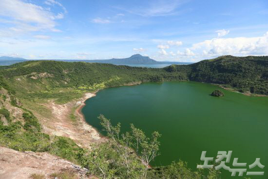 세계에서 가장 작은 화산, 따가이따이 . (사진=노랑풍선 제공)