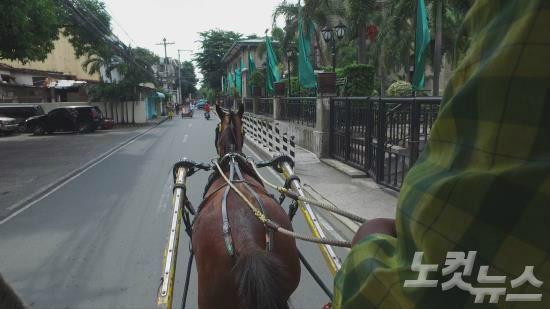 필리핀 역사를 느낄 수 있는 마닐라 시내를 둘러보자. (사진=노랑풍선 제공)