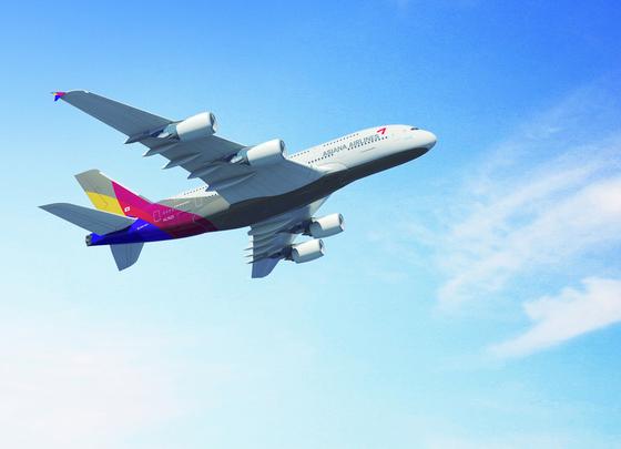 아시아나항공 A380@/News1