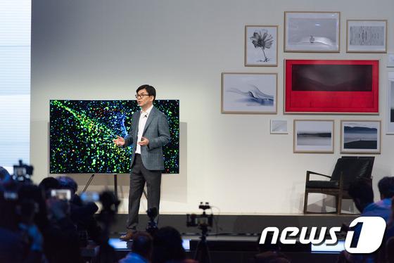 삼성전자 영상디스플레이 사업부장 김현석 사장. © News1