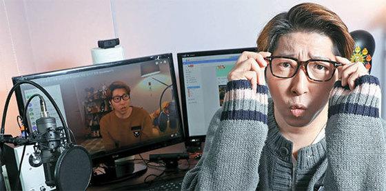 연 수익 10억 고졸 BJ .. 유튜브·카카오·네이버 모시기 경쟁