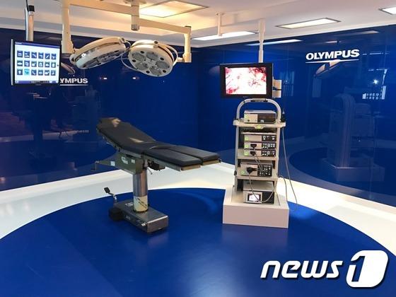 올림푸스 수술실 통합시스템 '엔도알파'© News1