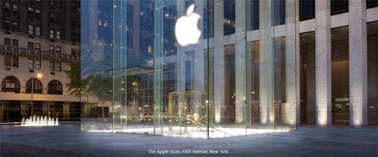 애플 뉴욕 스토어. 사진= 애플 홈페이지
