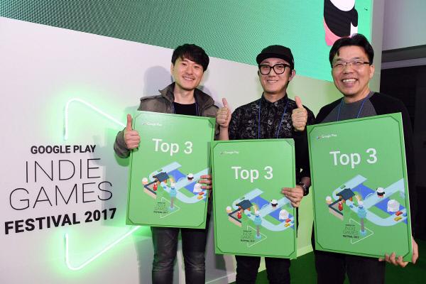 #게임 ♥ '제2회 구글 인디게임 페스티벌' 톱3 게임에 '큐비 어드벤처' 등 선정