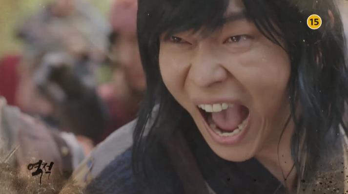 [역적 예고] 윤균상, 김지석에 맞서 수백의 정예 관군들과 전투!
