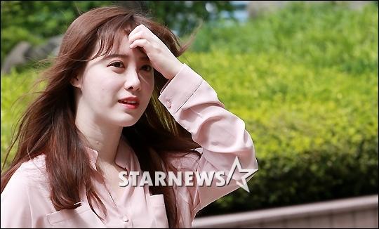 """구혜선 """"통원치료로 건강 호전..일상생활 무리없다"""""""