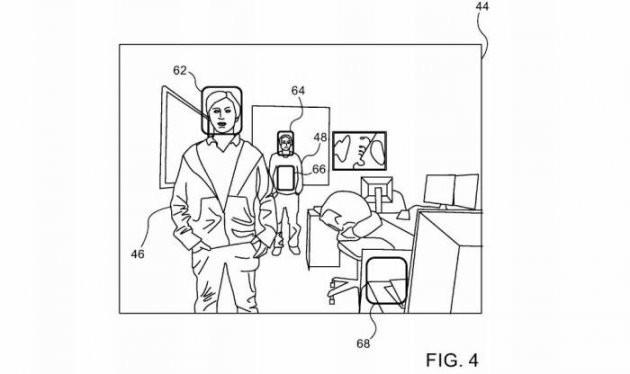 애플이 올초 취득한 특허는 '거리 정보를 이용한 고도의 얼굴 인식' 기술이다/ 자료: 미국 특허상표청(USPTO)