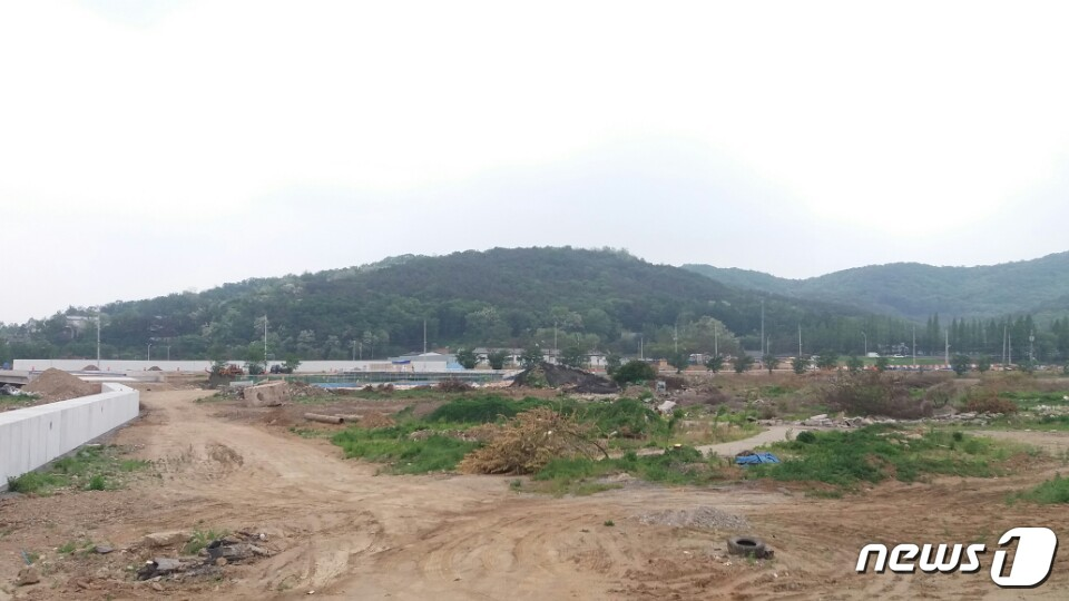 성남고등지구 전경.© News1