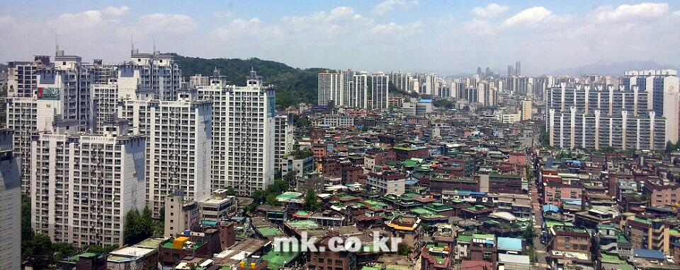 수도권 일대 주거지역 전경 [사진 이미연 기자]
