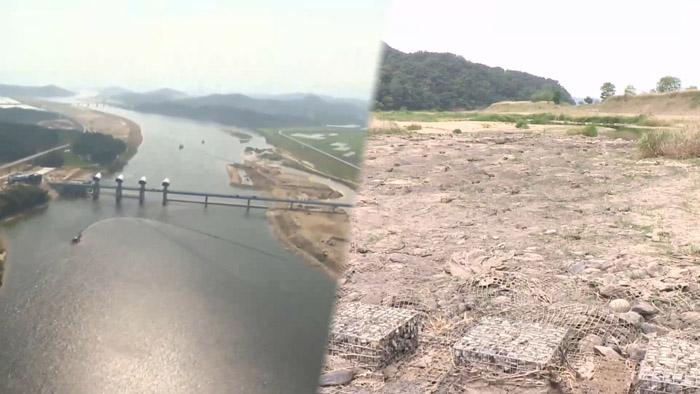 강에 차고 넘치는 물, 인근 농토엔 무용지물..왜? #연합뉴스TV
