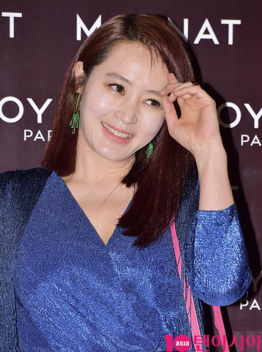 [TEN PHOTO]김혜수 '아름다운 미소'