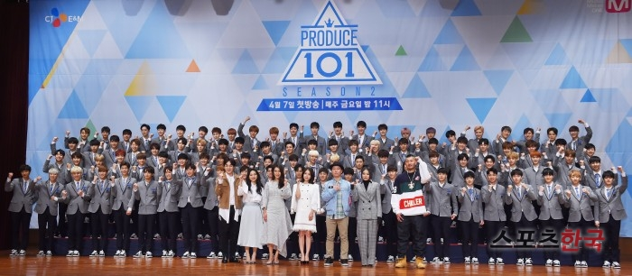 """'프로듀스101 시즌2', YMC와 한 번 더..""""11명 데뷔멤버와 전속계약"""""""
