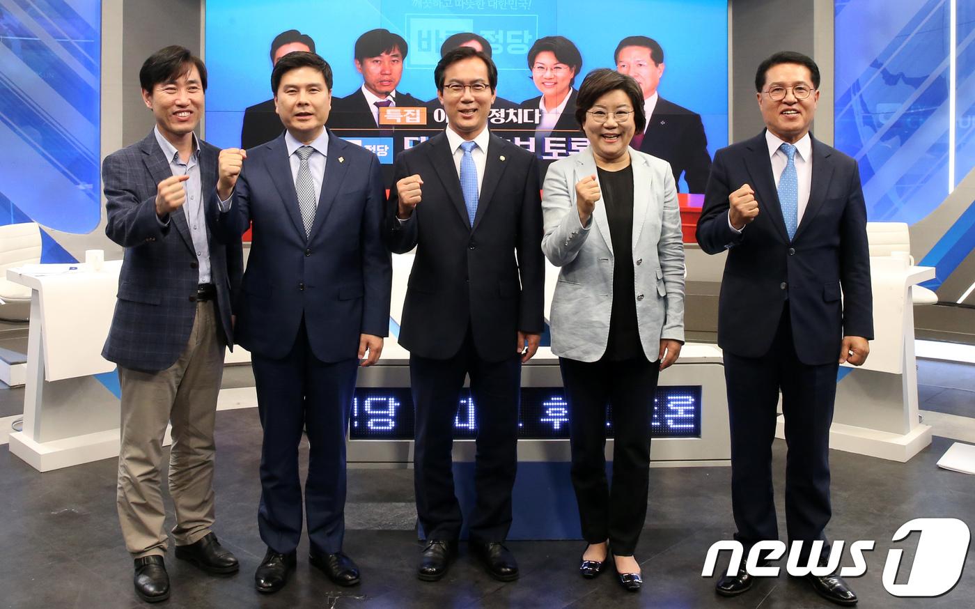 바른정당 호남권 당원투표서 정운천 1위·이혜훈 2위(종합) #뉴스1
