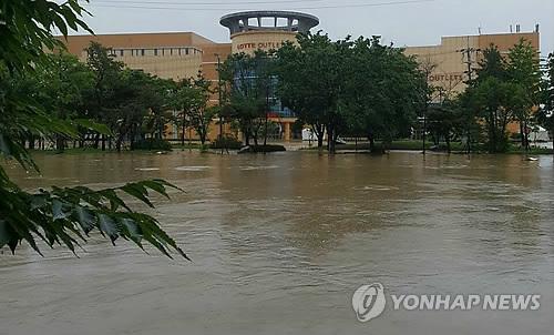 300mm 폭우에 도심 절반 잠긴 청주 '천재지변' vs '인재' #연합뉴스