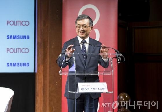권오현 삼성전자 부회장/사진제공=삼성전자