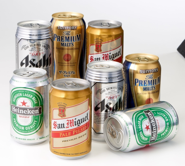 롯데마트가 올해 상반기 맥주판매량을 집계한 결과 수입맥주의 시장점유율은 51.1%로 국산 맥주를 소폭 앞지른 것으로 확인됐다. 수입맥주 이미지.