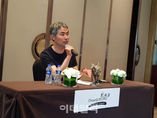 """#게임 ♥ 위메이드 대표 묘수?악수?..""""미르2 사설서버 양성화 강행"""""""