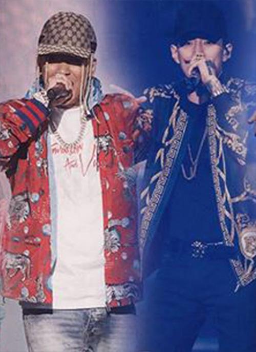 嘻哈组合服装设计图